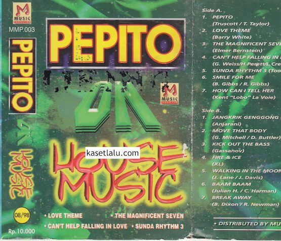 PEPITO ON HOUSE MUSIC