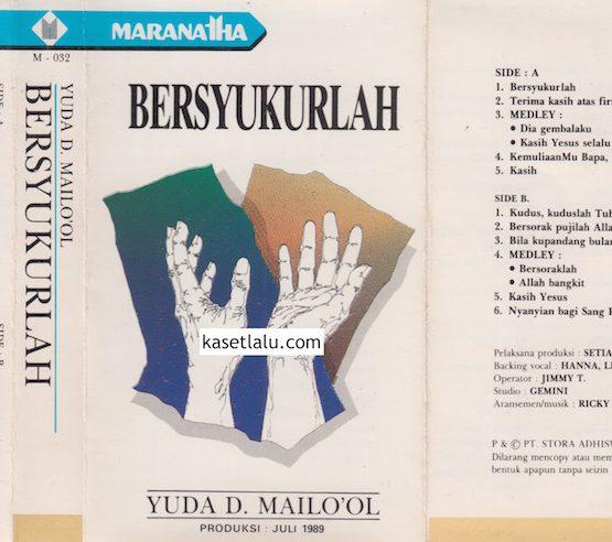 YUDA D. MAILO'OL - BERSYUKURLAH