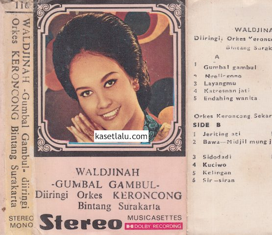 116 - WALDJINAH - GUMBAL GAMBUL - DIIRINGI ORKES KERONCONG BINTANG SURAKARTA