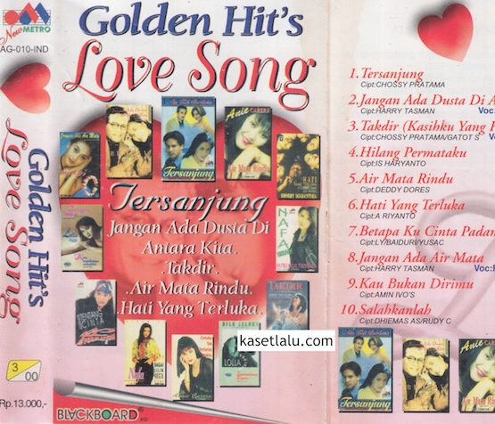 GOLDEN HIT'S LOVE SONG - TERSANJUNG