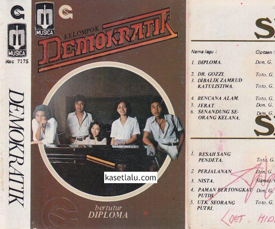 MSC 7175 - KELOMPOK DEMOKRATIK - BERTUTUR DIPLOMA