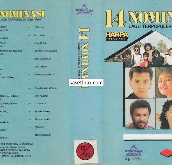 14 NOMINASI LAGU TERPOPULER 1989 - 1990