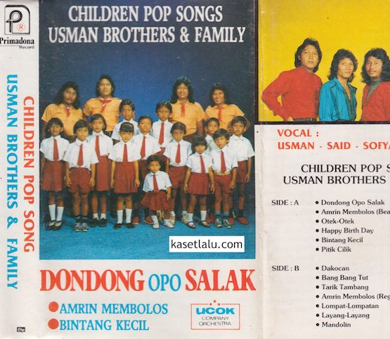 CHILDREN POP SONGS USMAN BROTHERS & FAMILY - DONDONG OPO SALAK