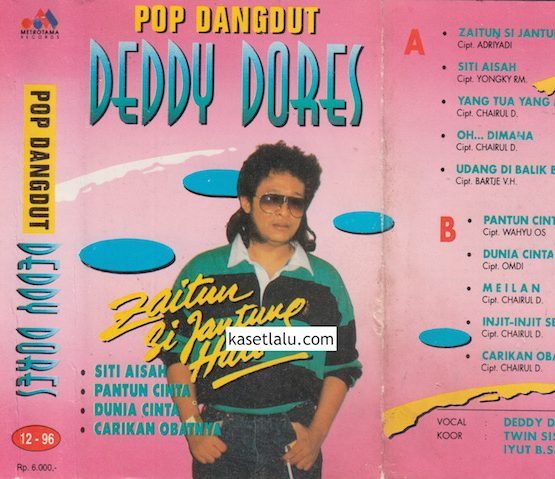DEDDY DORES - POP DANGDUT ZAITUN SI JANTUNG HATI