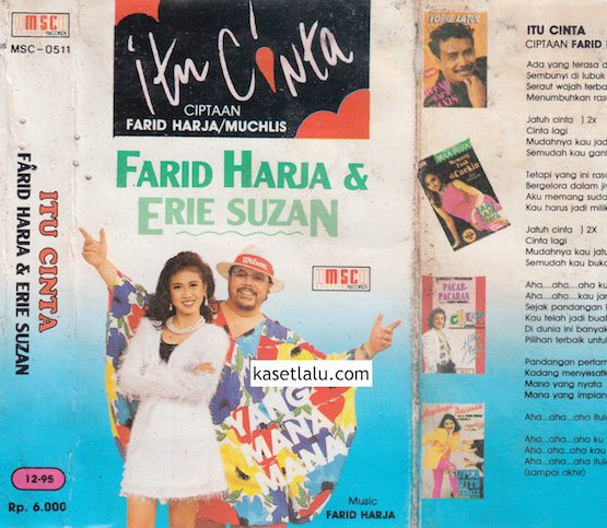 FARID HARJA & ERIE SUZAN - ITU CINTA