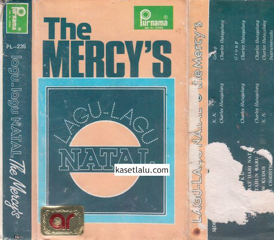 PL-0235 - THE MERCY'S - LAGU-LAGU NATAL