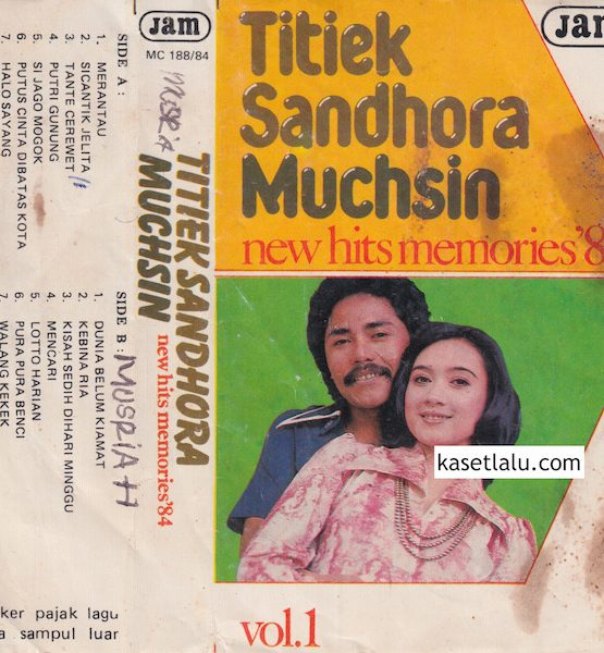 TITIEK SANDHORA & MUCHSIN - NEW HITS MEMORIES '84 VOL. 1