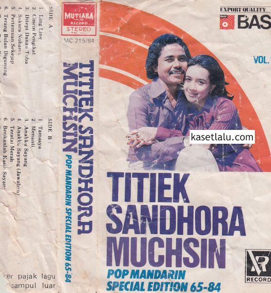 TITIEK SANDHORA & MUCHSIN - POP MANDARIN SPECIAL EDITION 65 - 84 VOL. 3