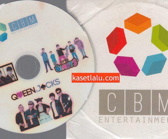 CD PROMO RADIO - CBM ENTERTAINMENT - SAGA, LITTLE GIANTS, QUEEN & JACKS
