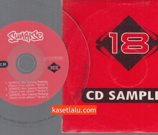CD PROMO RADIO - EBONY DELAPAN BELAS - SUNRISE - AKU SAYANG PADAMU
