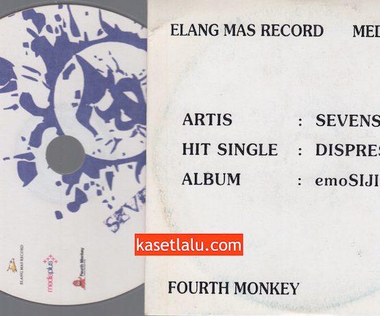 CD PROMO RADIO - ELANG MAS RECORD - SEVENSTEPS (DISPRESISI)