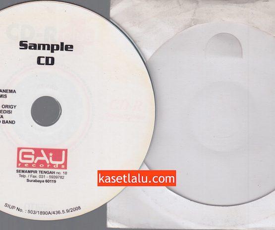 CD PROMO RADIO - GAU RECORDS - ROSANEMA, ARTEMIS, SOSSE, ORIGY, EDISI, MAHAGITA, READ BAND