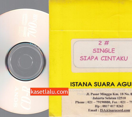 CD PROMO RADIO - ISA RECORDS - 2# (SIAPA CINTAKU)