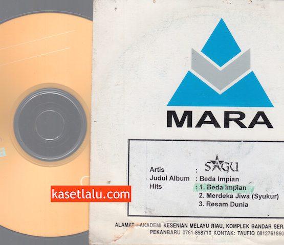 CD PROMO RADIO - MARA - SGU (BEDA IMPIAN)