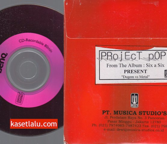 CD PROMO RADIO - MUSICA - PROJECT POP - SIX A SIX