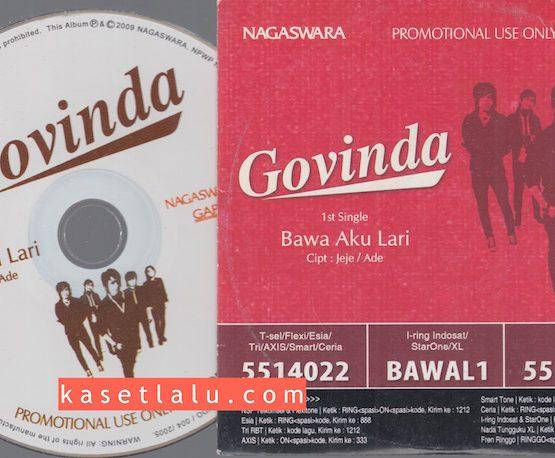 CD PROMO RADIO - NAGASWARA - GOVINDA - BAWA AKU LARI