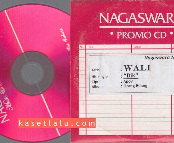 CD PROMO RADIO - NAGASWARA - WALI (DIK)