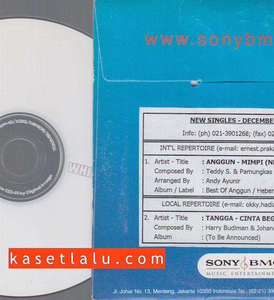 CDPR-00087 - CD PROMO RADIO - SONY BMG - ANGGUN (MIMPI) TANGGA (CINTA BEGINI