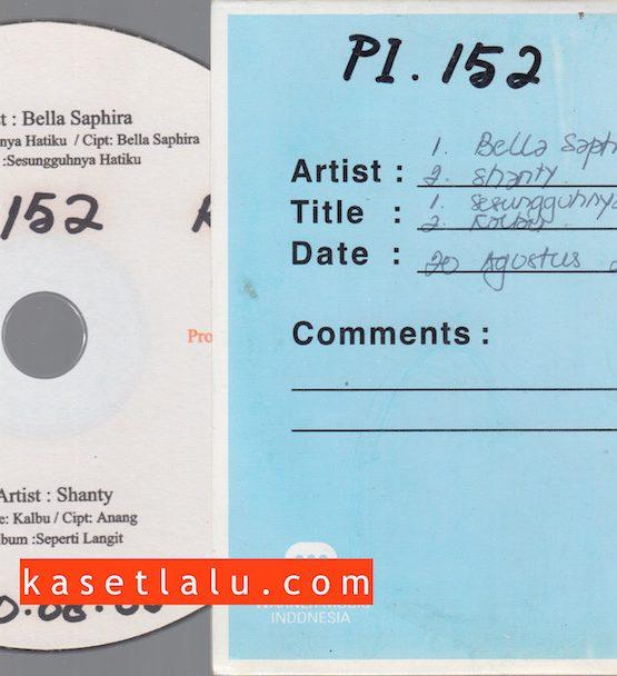 CDPR-00139 - CD PROMO RADIO - WARNER MUSIC INDONESIA - BELLA SAPHIRA & SHANTY