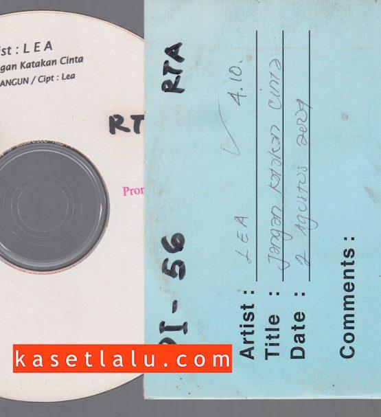 CDPR-00161 - CD PROMO RADIO - WARNER MUSIC INDONESIA - LEA - JANGAN KATAKAN CINTA