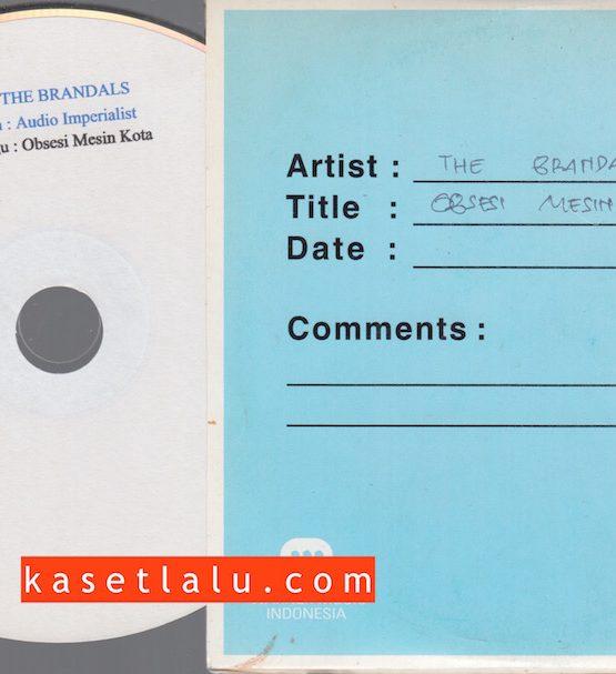 CDPR-00162 - CD PROMO RADIO - WARNER MUSIC INDONESIA - THE BRANDALS - OBSESI MESIN KOTA