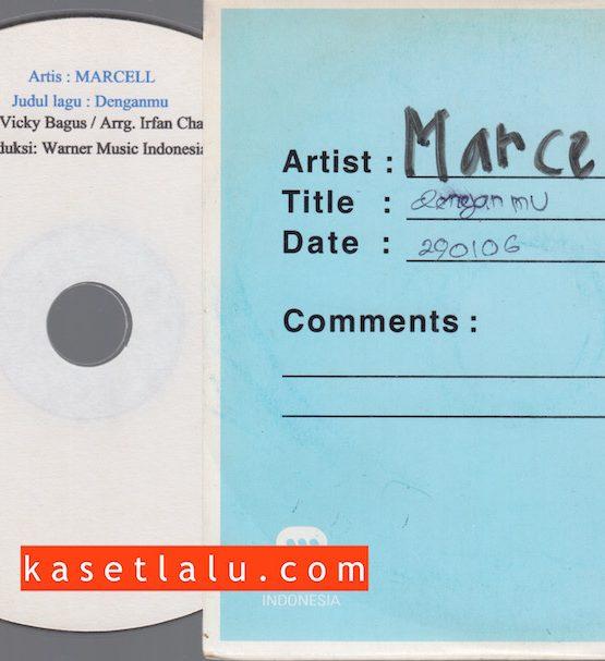 CDPR-00167 - CD PROMO RADIO - WARNER MUSIC INDONESIA - MARCELL - DENGANMU