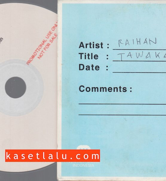 CDPR-00175 - CD PROMO RADIO - WARNER MUSIC INDONESIA - RAIHAN (TAWAKAL)