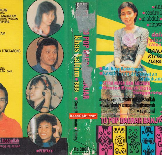 10 POP DAERAH BANJAR KHAS KALTIM 1989 (BANJAR KUTAI DAYAQ)