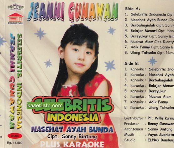 JEANNI GUNAWAN - SELEBRITIS INDONESIA