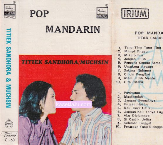 RMC-0852 - TITIEK SANDHORA : MUCHSIN - POP MANDARIN