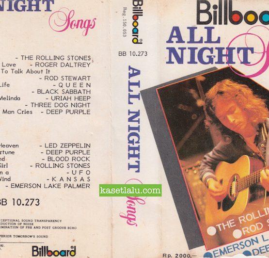BILLBOARD BB 10.273 - ALL NIGHT SONGS