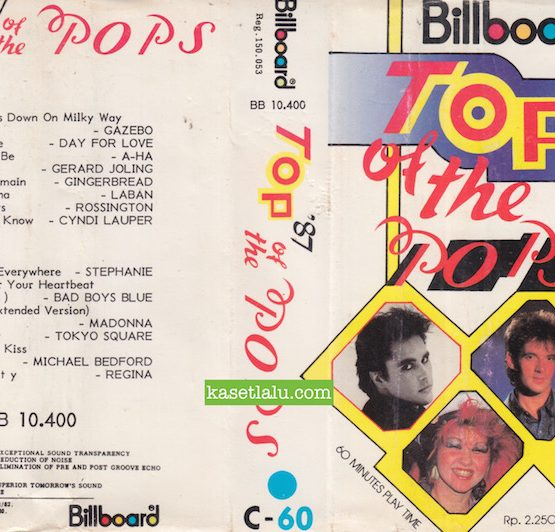 BILLBOARD BB 10.400 - TOP OF THE POPS '87