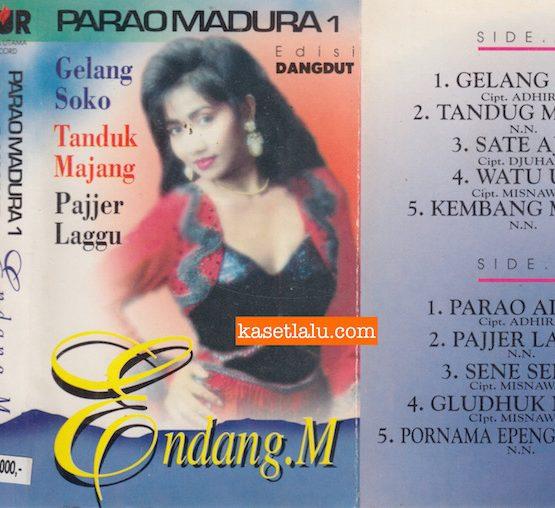 ENDANG M - PARAO MADURA 1 EDISI DANGDUT - GELANG SOKO