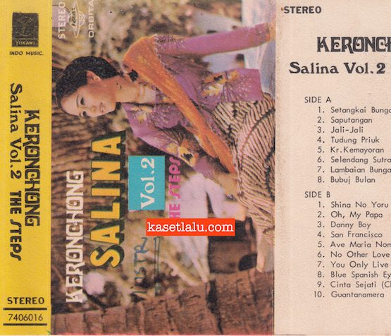 KERONCHONG SALINA VOL. 2 THE STEPS