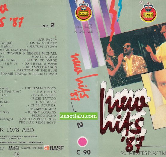 KING'S K 1078 AED - NEW HITS '87 VOL. 2