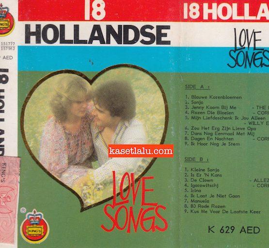 KING'S K 629 AED - 18 HOLLANDSE LOVE SONGS