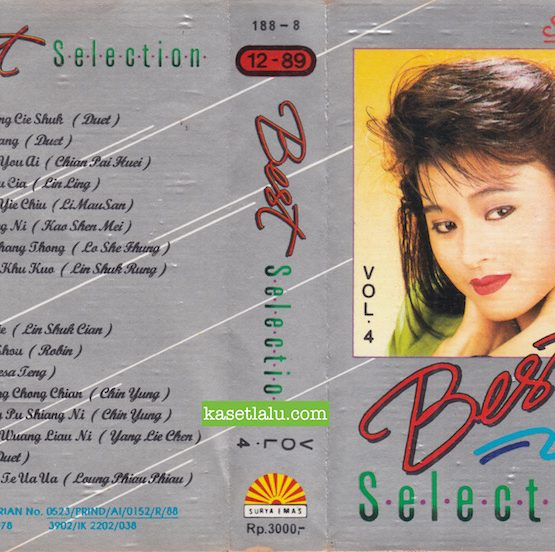 SURYA EMAS 188-8 - BEST SELECTION VOL. 4