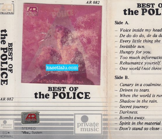 AR 082 PRIVATE MUSIC - BEST OF THE POLICE