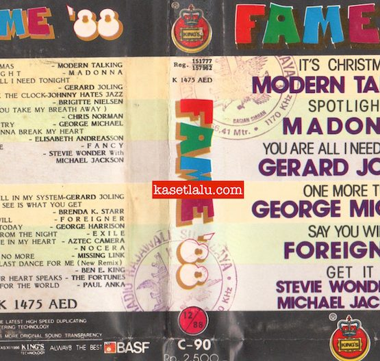KING'S K 1475 AED - FAME '88
