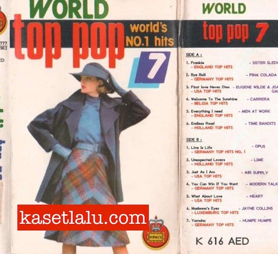 KING'S K 616 AED - WORLD TOP POP 7