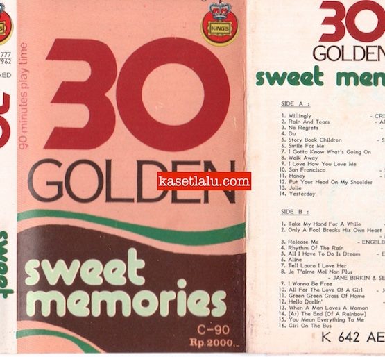 KING'S K 642 AED - 30 GOLDEN SWEET MEMORIES