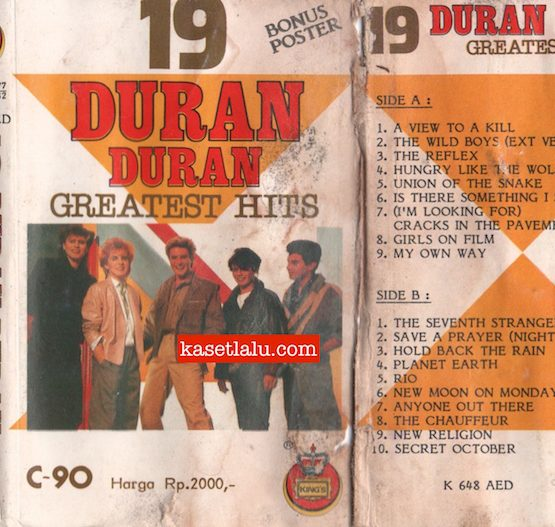 KING'S K 648 AED - 19 DURAN DURAN GREATEST HITS