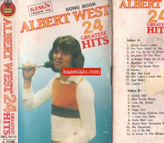 KING'S K 7123 BL - ALBERT WEST 24 GREATEST HITS