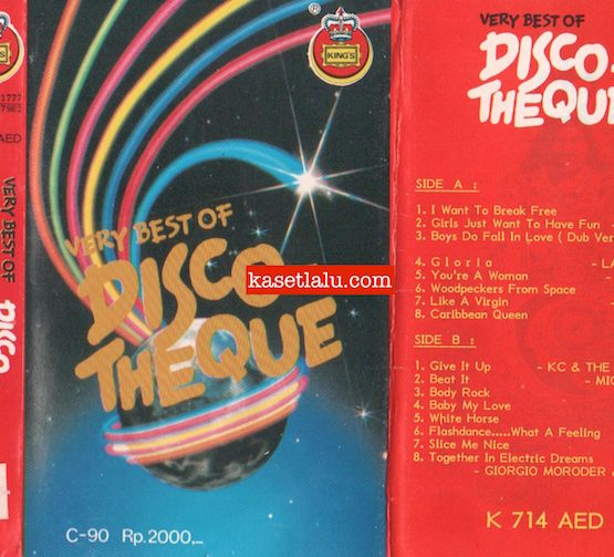 KING'S K 714 AED - VERY BEST OF DISCO THEQUE
