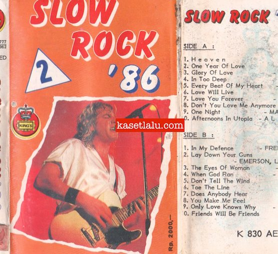KING'S K 830 AED - SLOW ROCK '86