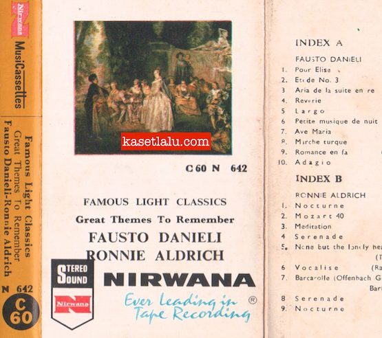 N 642 - FAMOUS LIGHT CLASSICS FAUSTO DANIELI, RONNIE ALD
