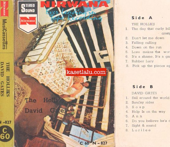 N-827 - THE HOLLIES DAVID GATES