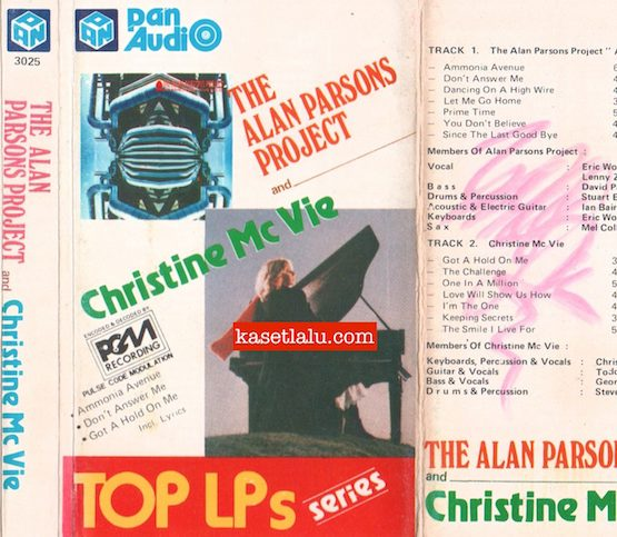 PAN 3025 - THE ALAN PARSONS PROJECT AND CHRISTINE MC VIE