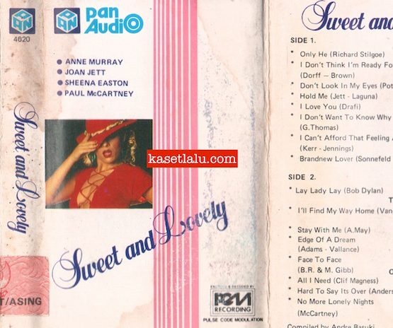 PAN AUDIO 4020 - SWEET AND LOVELY