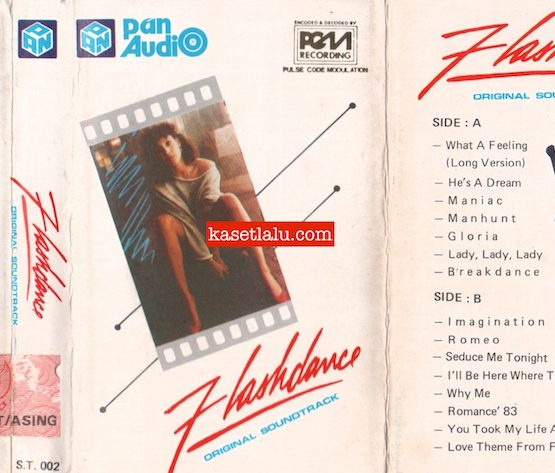 PAN S.T. 002 - FLASHDANCE ORIGINAL SOUNDTRACK